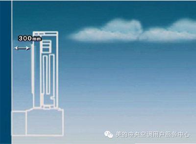 美的空气能热水器出风口要求