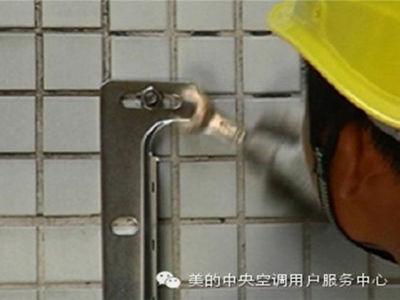 空气能热水器主机支架安装